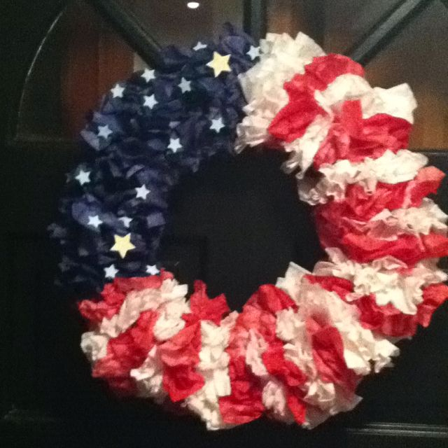 Coffee filter wreath                                                                                                                                                                                 More