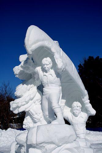 Snow Sculpture - Winterlude 2009