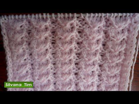 Aprende a Tejer Punto Bebé a Dos Agujas / Tutorial | Crochet y Dos agujas