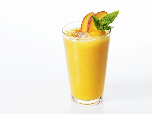 A smoothie is a thick beverage made from blended raw fruit or vegetables with other ingredients such as water, ice, dairy products or sweeteners.