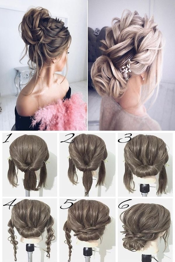 Short Hairstyles Quick Easy Updo Hairstyles Cute Formal Hairstyles For Medium Ha In 2020 Formal Hairstyles For Short Hair Short Hair Styles Easy Medium Hair Styles