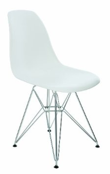 Amazon.com: Max Eiffel Chair by Nuevo HGZX217: Home & Kitchen $105