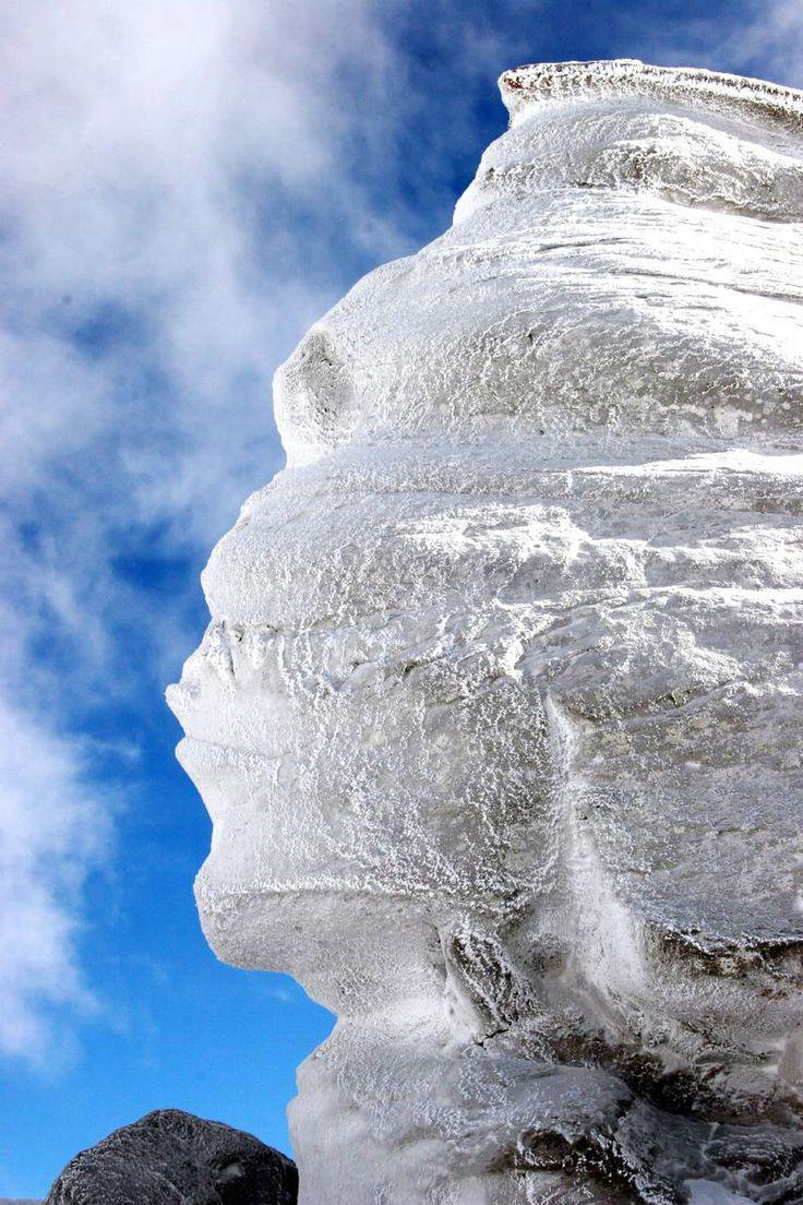 La «Esfinge rumana», en los montes Bucegi.