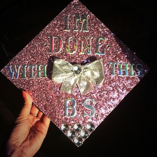 This WILL be my Graduation cap