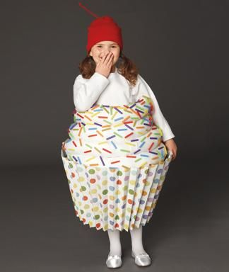 DIY Halloween : DIY Halloween Cupcake Costume
