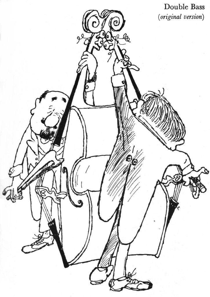 Kontrabass: Die imaginären Instrumente von Gerard Hoffnung (1957-1959)