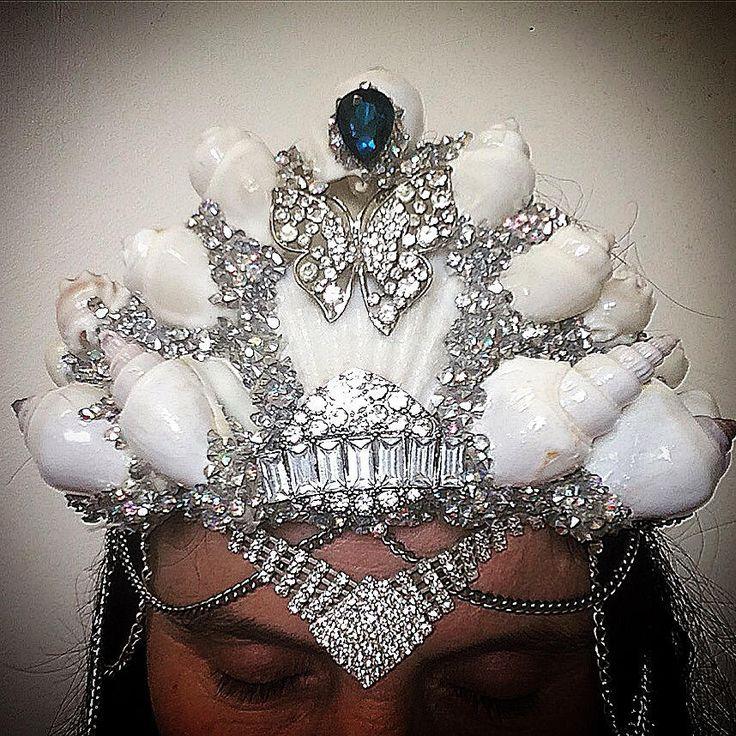 Mermaid crown by SummersDreaming on Etsy