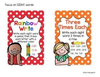 Super-Sight-Word-Spellers-fun-spelling-task-cards-1416891 Teaching Resources - TeachersPayTeachers.com