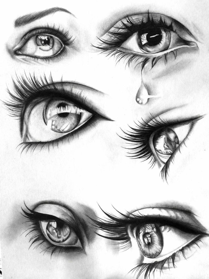 Various eye illustrations