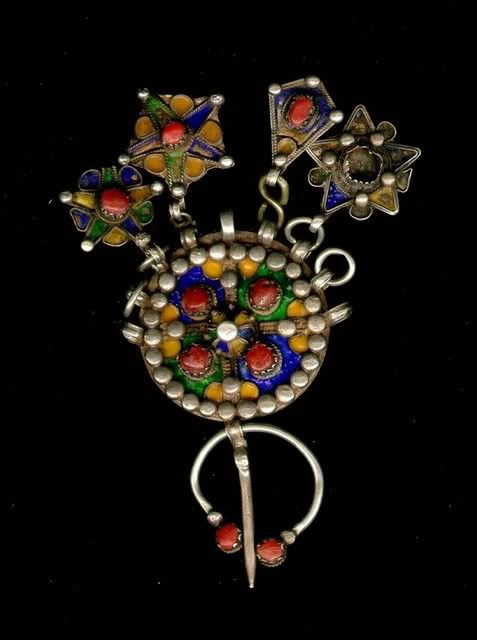 Ancienne Broche Kabyle.