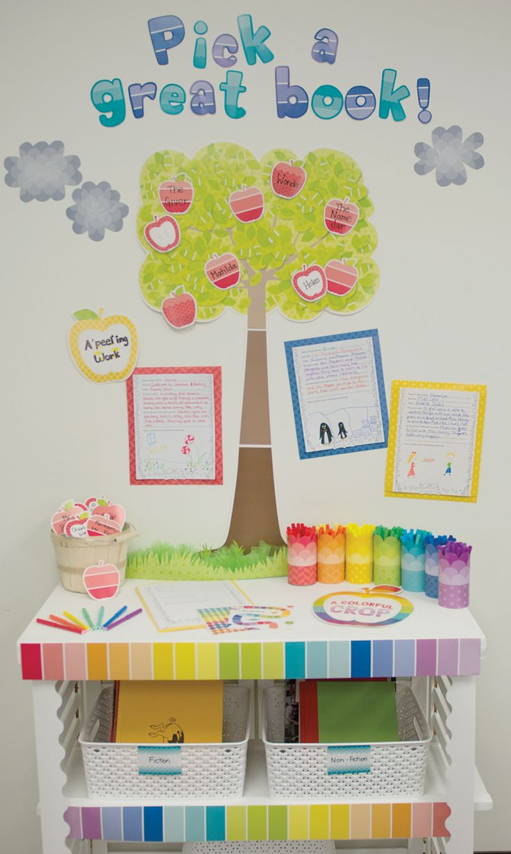 Creative Teaching Press Classroom Decorations : Best painted palette classroom decor by creative
