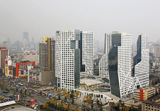 Porosity Block in Chengdu by Steven Holl   Buildings   Architectural Review