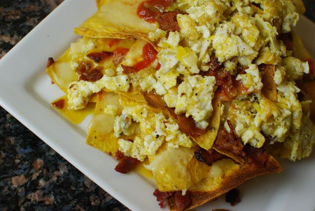 Breakfast Nachos | Nachos | Pinterest