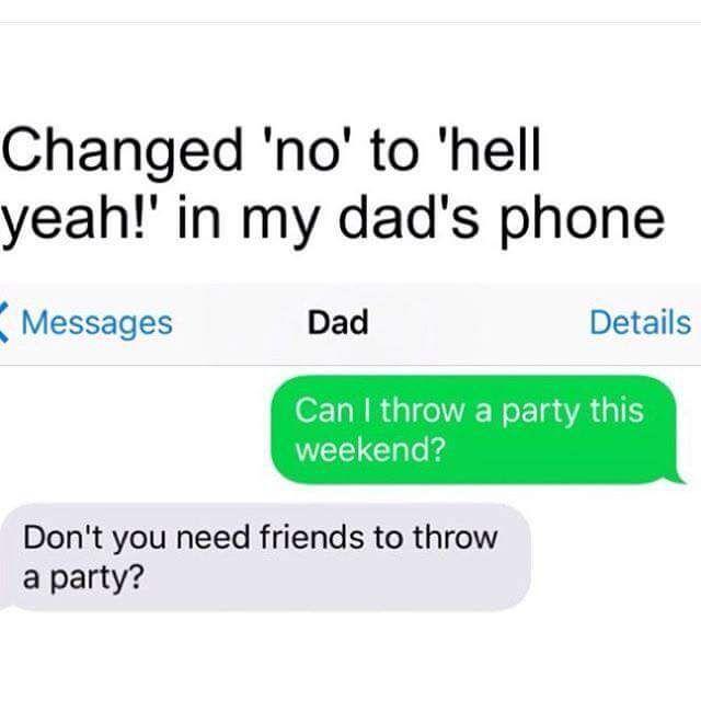 Dad is way ahead of you kid. #funnypics #funny #lol