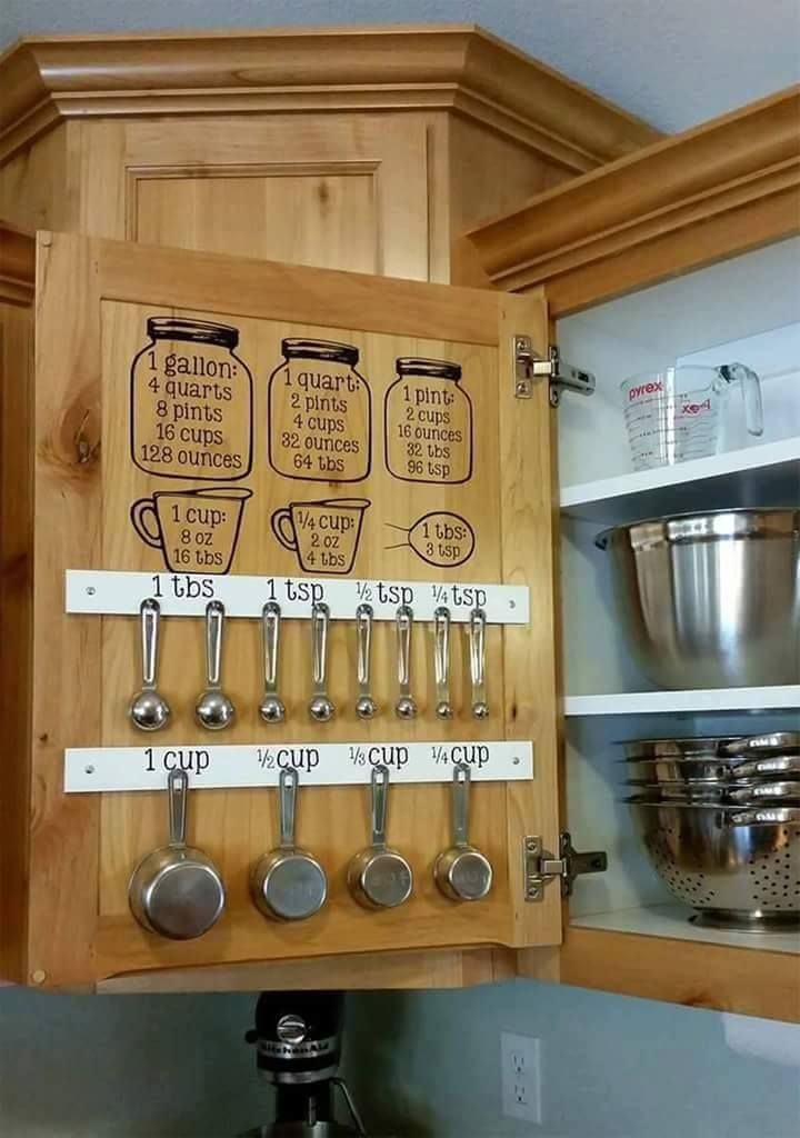 15 Brilliant Kitchen Organization Ideas Part 52