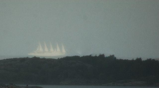 Actual Pictures of Ghost Ships | Ghost Ship in Fjällbacka Archipellago
