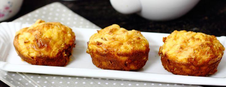 Готуй смачно разом із #Бондюель: Мафіни до сніданку з кукурудзою і сиром #рецепт