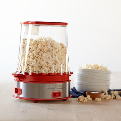 Cuisinart Easy Pop Plus Popcorn Maker -- love the retro look   #williamssonoma