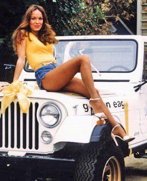 1980 Jeep CJ7 a la Daisy Duke!  Lol.   Mine was an 81 but loved my jeep!