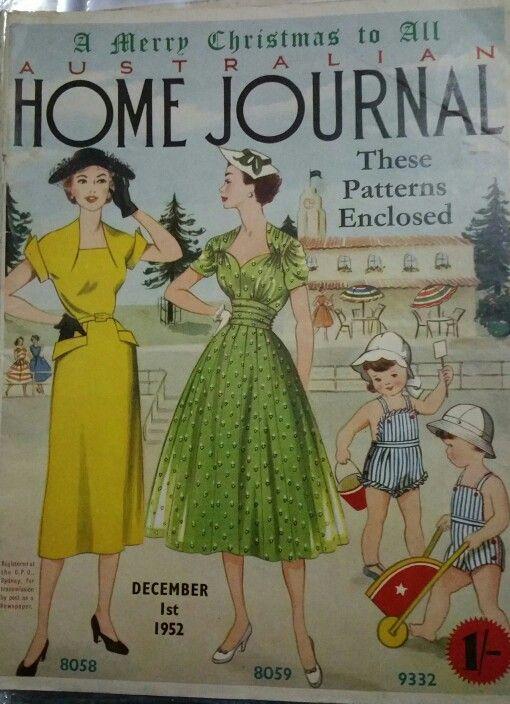 Australian home journal December 1952 cover