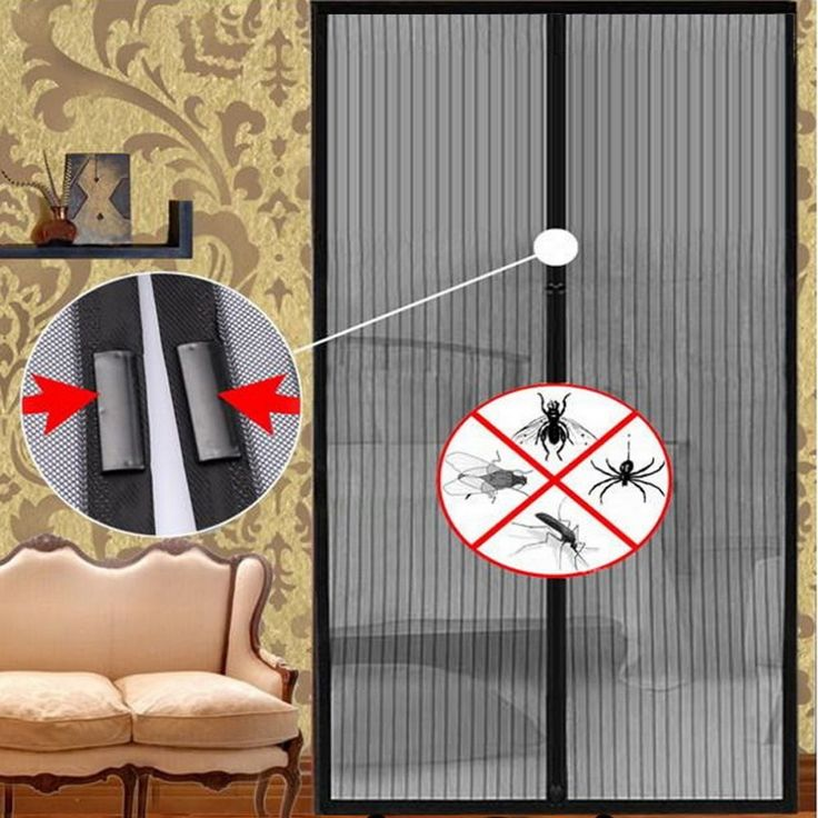 Hot Sale Magnetic Stripe Summer Anti-Mosquito Curtains Encryption Mosquito Net On the Door Magnets #Affiliate
