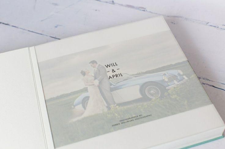 Queensberry Wedding Album | Futura Translucent Title Page | Debbie ...