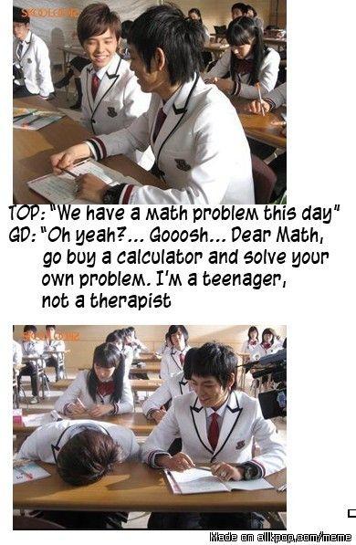 Dear Math..... | allkpop Meme Center