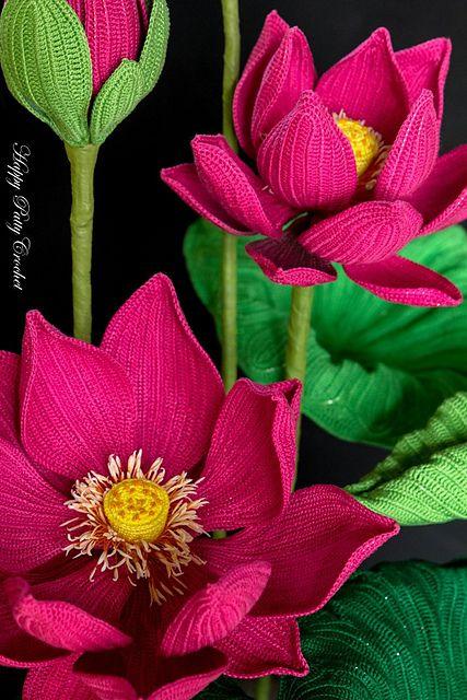 Ravelry: Crochet Lotus Pattern by Happy Patty Crochet