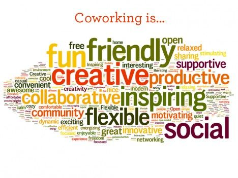 @coworking @theworkstation @creative@flexible @networking