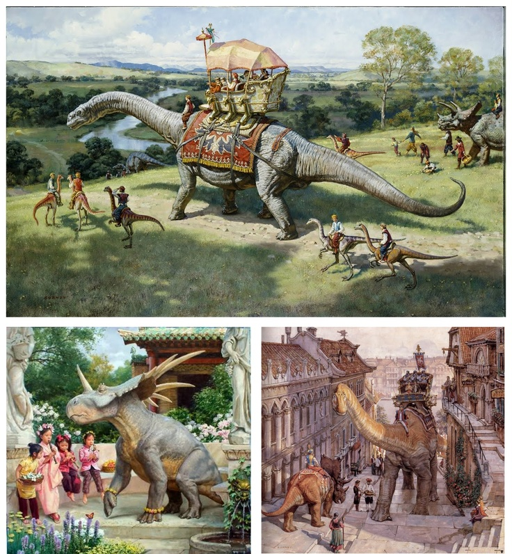 dinotopia coloring pages - photo#26