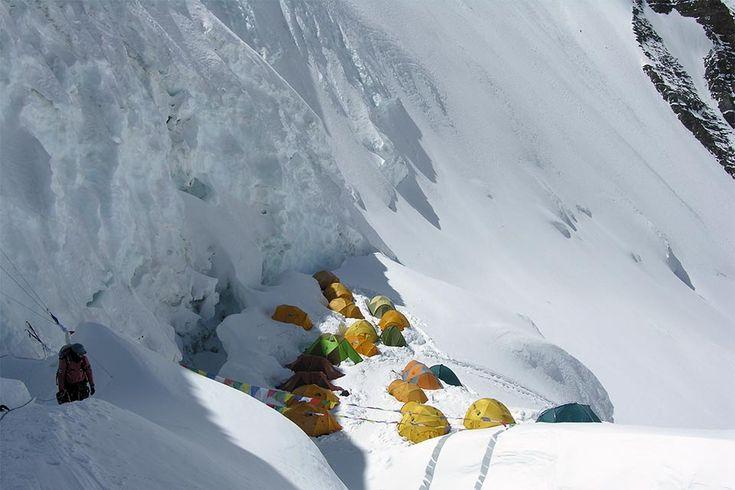 North Col Camp I - 7050m