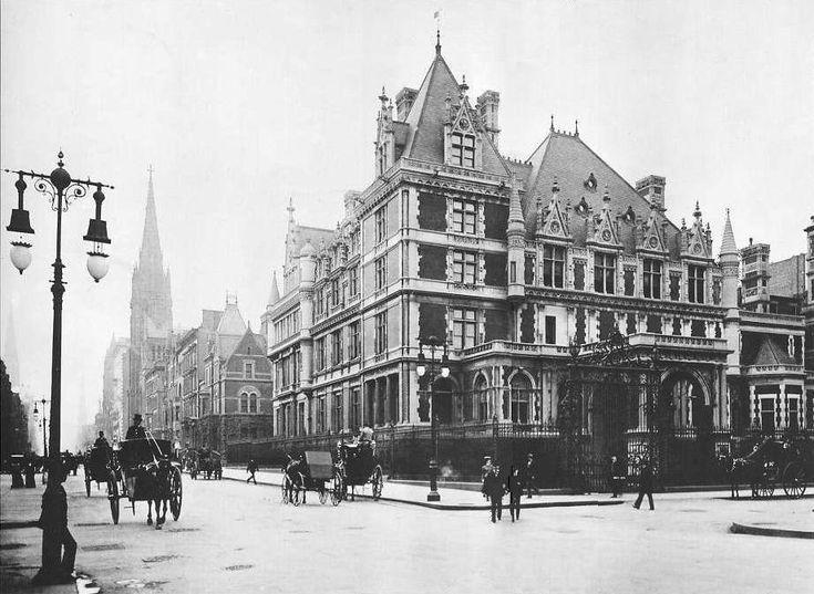 archimaps: The Cornelius Vanderbilt II Mansion, New York City