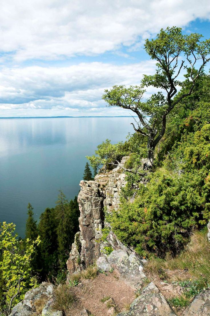 Omberg - VIew of Vättern Lake.