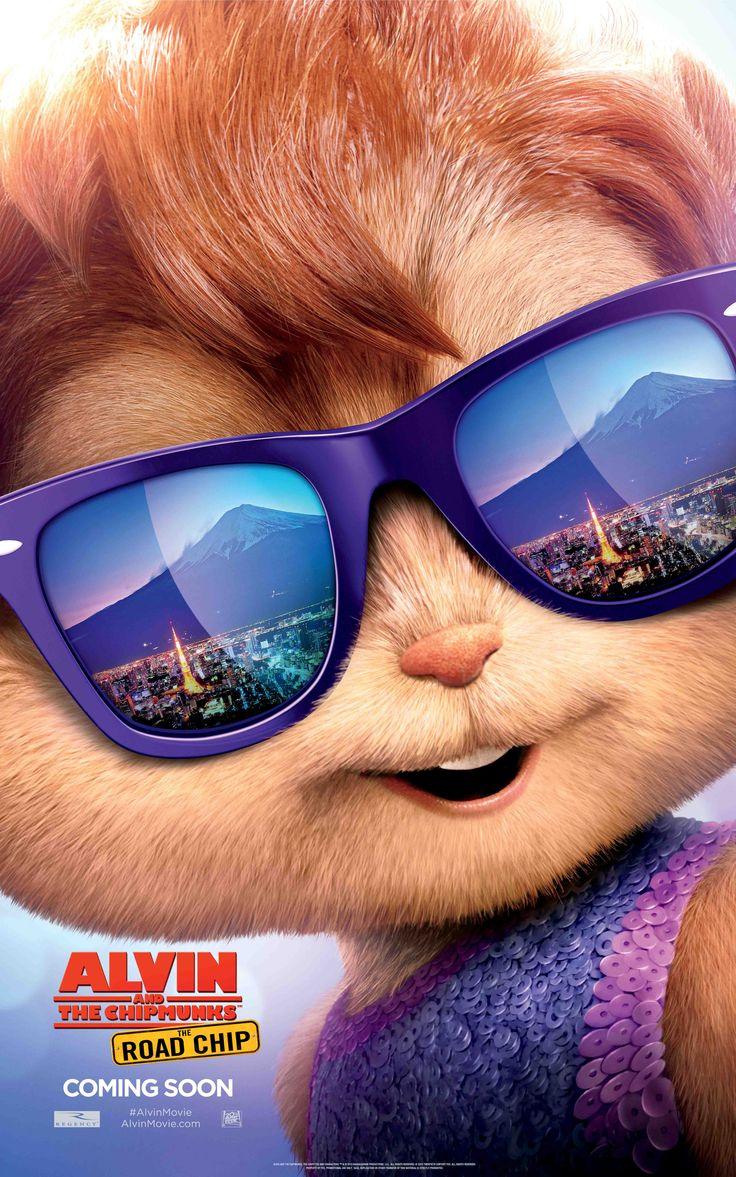 Hello, Tokyo! Jeanette is ready to hit the city   Alvin and the Chipmunks: The Road Chip