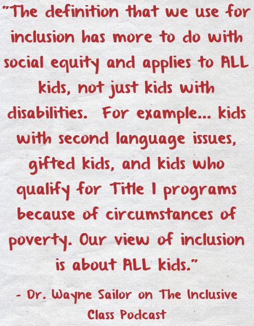 inclusive education is not an alternative but inevitability Alternative iep programming characteristics alternative programming addresses various aspects of student need that are not specifically represented in the ontario curriculum in order for the student to learn new skills.