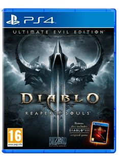 Activision Diablo III (3) - Ultimate Evil Edition on PS4 Diablo III Ultimate Evil Edition Includes: Diablo III Reaper of Souls Expansion PackBlizzard Entertainments epic action-RPG Diablo III is moving the eternal war between the High Heavens and the Burnin http://www.MightGet.com/february-2017-1/activision-diablo-iii-3--ultimate-evil-edition-on-ps4.asp