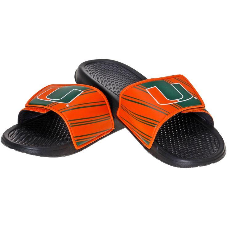 Miami Hurricanes Sport Slider Sandals