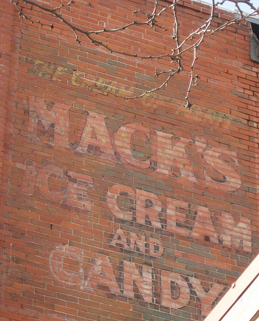 Mack's Ice Cream and Candy :: Ghost Sign