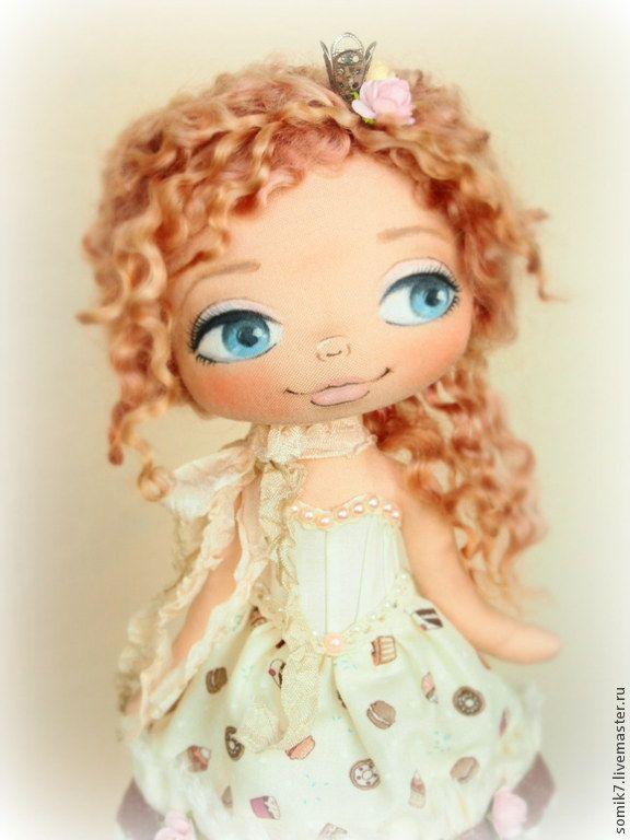 Купить Принцесса сладкой страны - кукла, бежевый, коллекционная кукла, кукла ручной работы