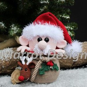 Amigurumi Kerstman | Marrot Design