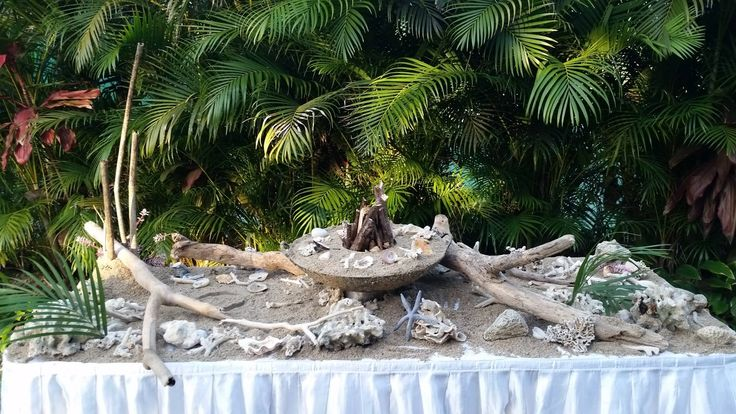 Outrigger Fiji Beach Resort Wedding Ideas Planning Inspiration Tropical Paradise Style Floral Design Planning Photography Table Setting Sand Cultural Green Outdoors Nature