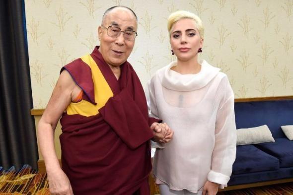 Η Lady Gaga συνάντησε τον Δαλάι Λάμα - ΦΩΤΟ