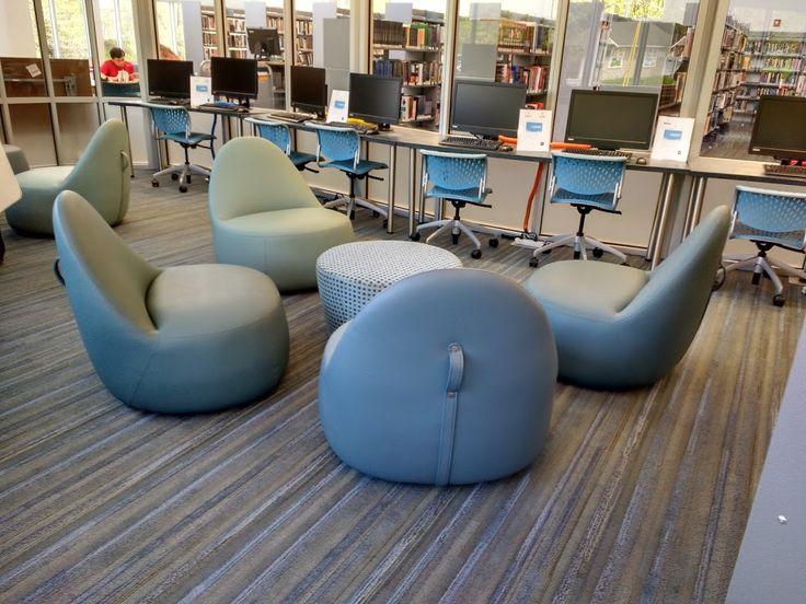 Teen room seating -- Christa McAuliffe branch, Framingham (MA) PL