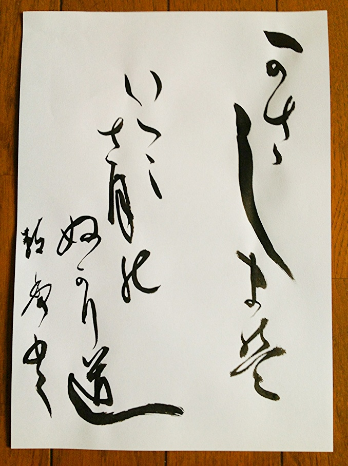 Custom Peace Chinese & Japanese Calligraphy Wall Scroll