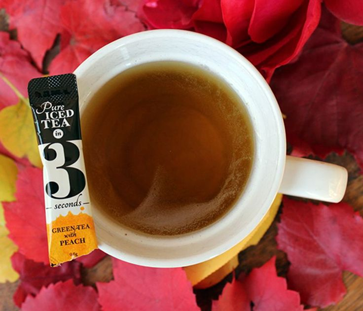 Green Tea in 3 can also be enjoyed hot! Just add a sachet to boiled water and you're ready to go - no wait time, no brew time.