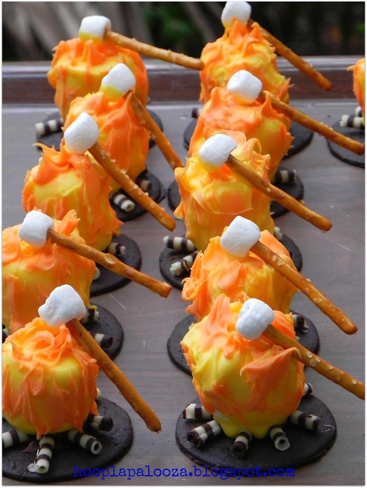 hoopla palooza: campfire marshmallow cookies