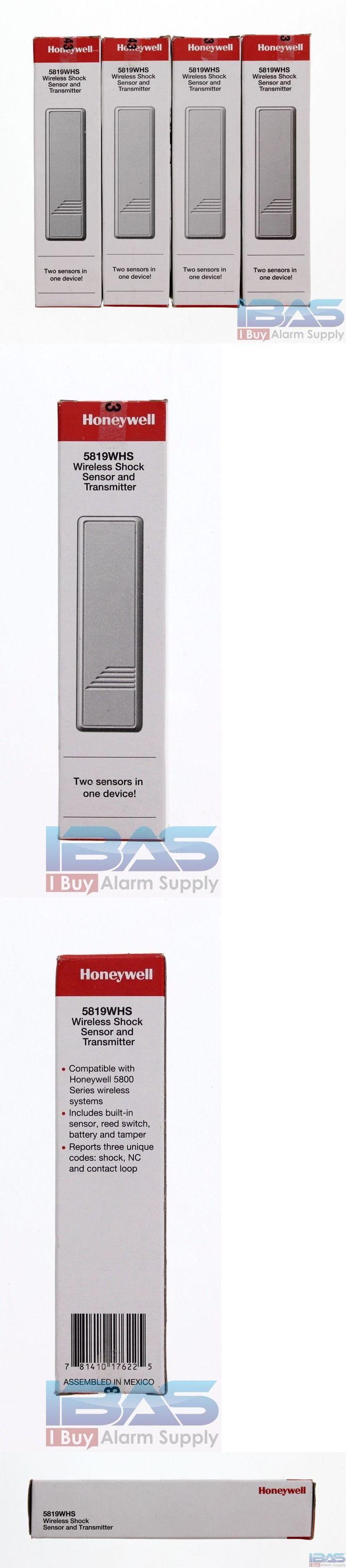 Wireless Transmitters 115946: 4 Honeywell Ademco Adt 5819Whs Wireless Door Shock Sensor Alarm System Contact -> BUY IT NOW ONLY: $175.99 on eBay!