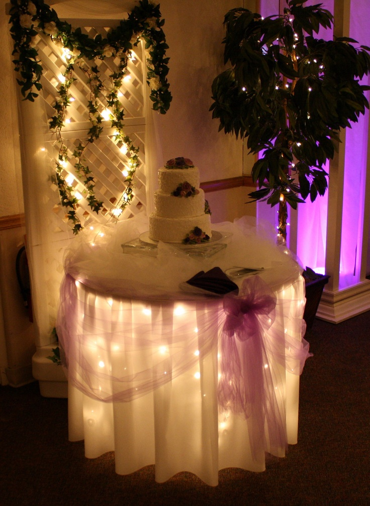 navy blue and white wedding under lighted and navy blue decorated gift table maneeley 39 s in. Black Bedroom Furniture Sets. Home Design Ideas