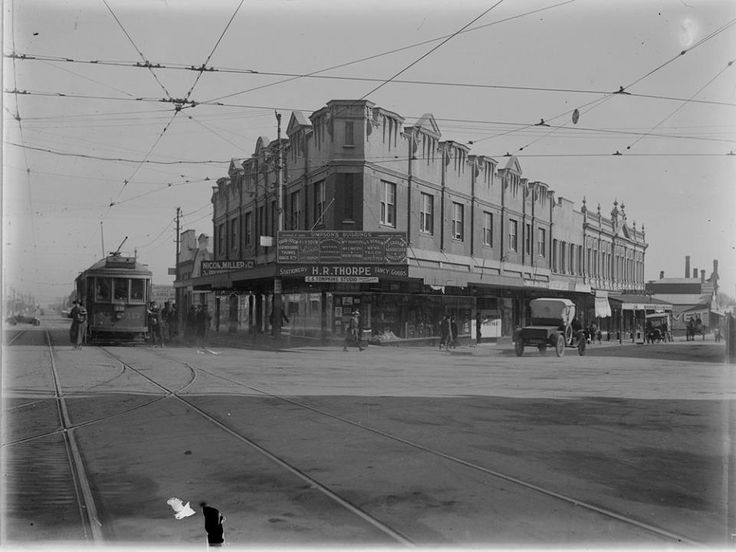 Camberwell Junction, Camberwell and Burke Road c 1920s