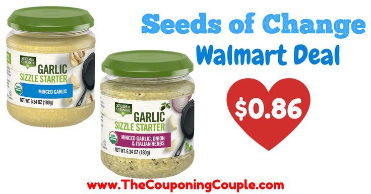 Hot deal on seeds of change garlic sizzle starter